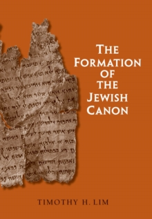 The Formation of the Jewish Canon, EPUB eBook