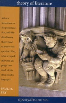 Theory of Literature, Paperback / softback Book