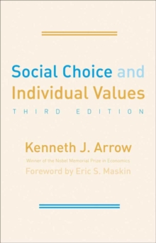 Social Choice and Individual Values : Third Edition, EPUB eBook