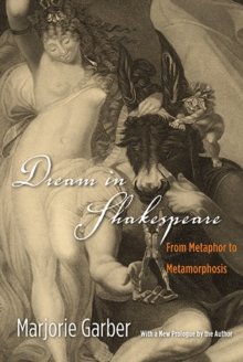 Dream in Shakespeare : From Metaphor to Metamorphosis, Paperback / softback Book