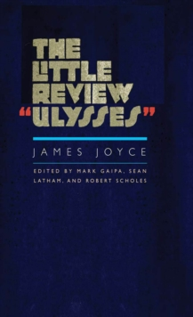 "The Little Review ""Ulysses"", EPUB eBook"