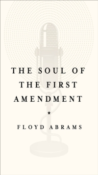 The Soul of the First Amendment, EPUB eBook