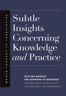 Subtle Insights Concerning Knowledge and Practice, EPUB eBook