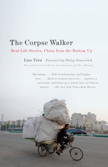 The Corpse Walker, Paperback Book