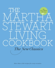 The Martha Stewart Living Cookbook, Hardback Book