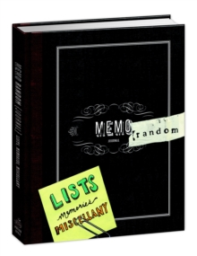 Memorandom, General merchandise Book