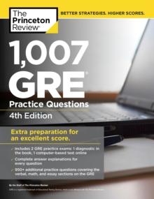 1,007 GRE Practice Questions, 4th Edition, EPUB eBook