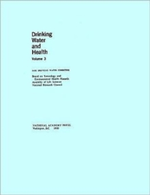 Drinking Water and Health : v. 3, Paperback Book