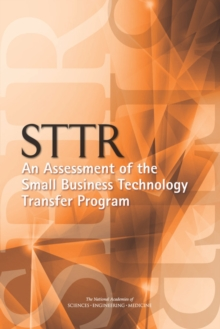 STTR: An Assessment of the Small Business Technology Transfer Program, EPUB eBook