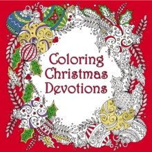 Coloring Christmas Devotions, Paperback Book