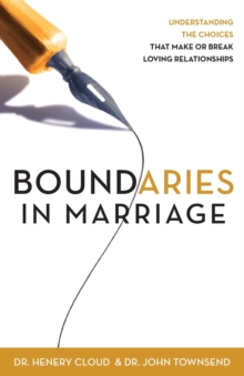 Boundaries in Marriage, Paperback Book