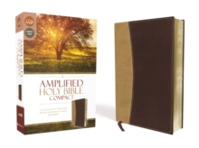 Amplified Holy Bible, Compact, Leathersoft, Tan/Burgundy : Captures the Full Meaning Behind the Original Greek and Hebrew, Leather / fine binding Book