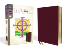 NRSV, Thinline Bible, Bonded Leather, Burgundy, Comfort Print, Leather / fine binding Book