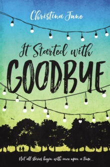 It Started with Goodbye, Paperback Book