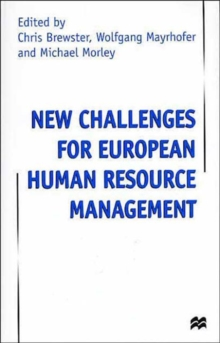 New Challenges for European Resource Management, Hardback Book
