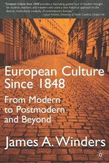 European Culture Since 1848, Paperback / softback Book