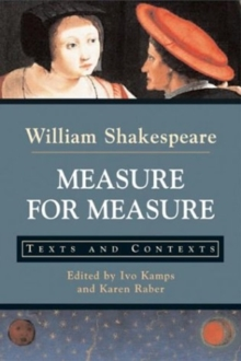 Measure for Measure : Texts and Contexts, Paperback / softback Book
