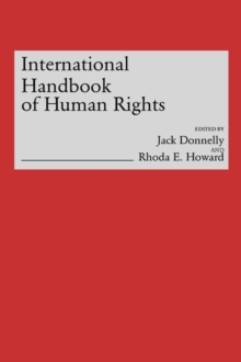 International Handbook of Human Rights, Hardback Book