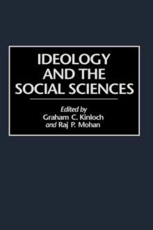 Ideology and the Social Sciences, Hardback Book