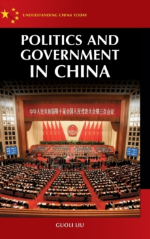 Politics and Government in China, Hardback Book