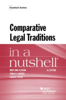 Comparative Legal Traditions in a Nutshell, Paperback / softback Book