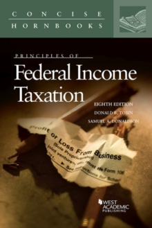 Principles of Federal Income Taxation, Paperback / softback Book