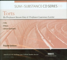 Sum and Substance Audio on Torts, CD-ROM Book