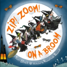Zip! Zoom! On a Broom, Hardback Book