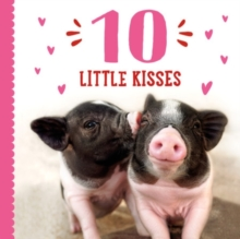 10 Little Kisses, Hardback Book