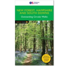 New Forest, Hampshire & South Downs, Paperback / softback Book