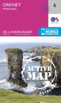 Orkney - Mainland, Sheet map, folded Book