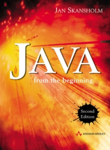 Java from the Beginning, Paperback / softback Book
