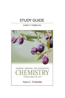 Study Guide for General, Organic, and Biological Chemistry : Structures of Life, Paperback Book