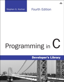 Programming in C, Paperback Book