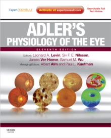 Adler's Physiology of the Eye : Expert Consult - Online and Print, Hardback Book