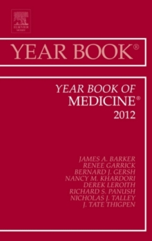 Year Book of Medicine 2012, Hardback Book