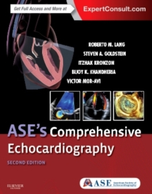 ASE's Comprehensive Echocardiography, Hardback Book