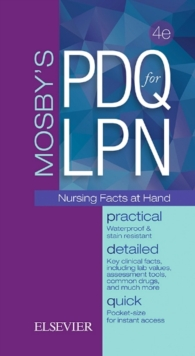 Mosby's PDQ for LPN, Spiral bound Book