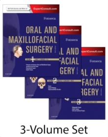 Oral and Maxillofacial Surgery : 3-Volume Set, Hardback Book