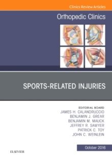 Sports-Related Injuries, An Issue of Orthopedic Clinics, Hardback Book