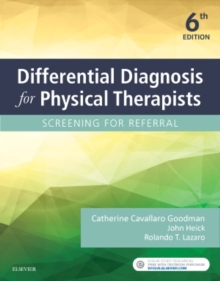 Differential Diagnosis for Physical Therapists : Screening for Referral, Paperback Book