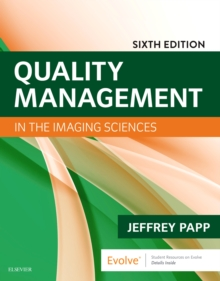 Quality Management in the Imaging Sciences, Paperback / softback Book