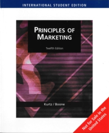 Principles of Marketing (AISE), Paperback / softback Book