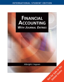 AISE-FINANCIAL ACCOUNTING WITHJOURNAL ENTRIES, Paperback / softback Book