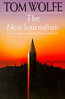 New Journalism, Paperback Book