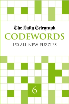 Daily Telegraph Codewords 6, Paperback Book