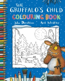The Gruffalo's Child Colouring Book, Paperback Book