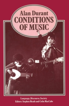 Conditions of Music, Paperback / softback Book