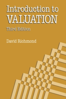 Introduction to Valuation, Paperback / softback Book