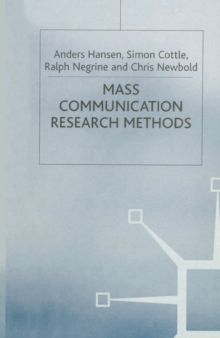 Mass Communication Research Methods, Paperback Book